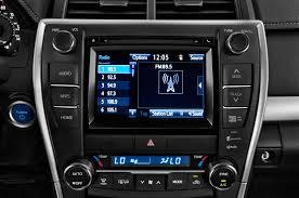toyota camry 2017 interior 2017 toyota camry hybrid radio interior photo automotive com