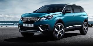 first peugeot 2017 peugeot 5008 unveiled first large seven seat suv headed for