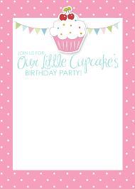 art birthday invitations cupcake birthday invitations plumegiant com