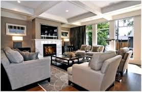 interior living room ideas with brick fireplace and tv living
