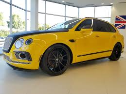 bentley yellow new 2017 bentley bentayga for sale alpharetta ga