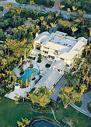 tiger woods house tiger woods not alone on jupiter island golf for beginners