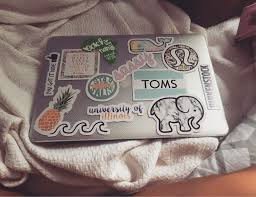 preppy decals laptopstickers stickers laptop cutelaptopstickers laptop