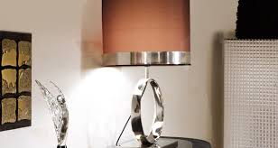 table beautiful chrome table lamp in interior design for home