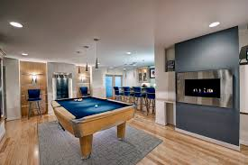 modern basement design ashburn contemporary basement pool area contemporary basement