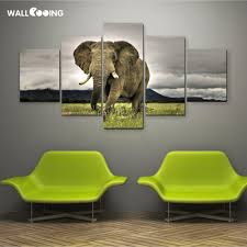 elephant picture picture more detailed picture about 5pcs canvas