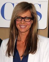 hairstyles for long straight hair with glasses allison janney s professional look with glasses and long straight hair
