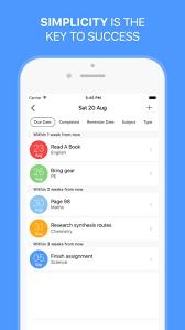 app class the homework app your class assignment timetable schedule
