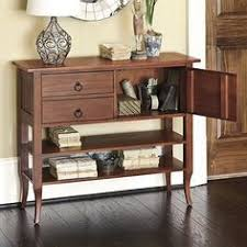 for living room under window metropolitan long console table