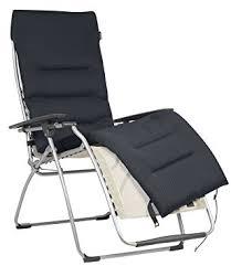 siege relax lafuma lafuma surmatelas rembourré air comfort pour fauteuil relax