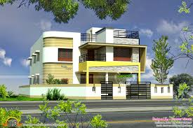 design gallery tamilnadu style minimalist 2135 sq feet house design