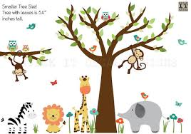 Jungle Wall Decal For Nursery Jungle Decals Jungle Wall Decals Nursery Wall Decal
