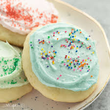 these sour cream sugar cookies are soft and fluffy with just the