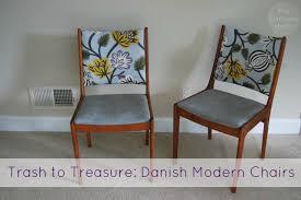 danish modern dining room chairs trash to treasure danish modern dining chair refurbish the