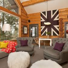 Cottage Decorating Ideas Pinterest by Rustic Cabin Living Room Decorating Ideas Best 75 Rustic Cabin