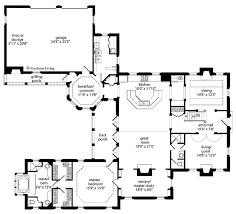 U Shaped House Plans With Courtyard 75 Best House Plans Images On Pinterest House Floor Plans
