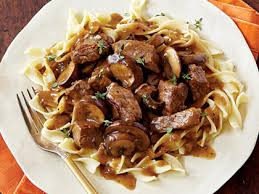 mushroom gravy its not easy steak tips with peppered mushroom gravy recipe myrecipes