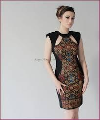 model baju model baju batik kombinasi kain polos untuk wanita batik tulis