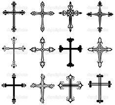 religious cross design collection u2014 stock illustration 11451636