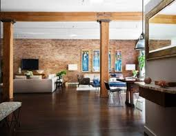 New York Style Home Decor New York City Lofts Photos Love The Exposed Brick And Beams
