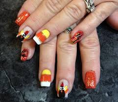thanksgiving nails that are for the season