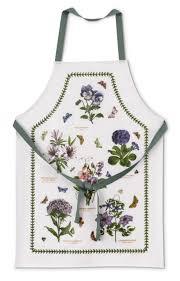 pimpernel for portmeirion botanic garden cotton apron