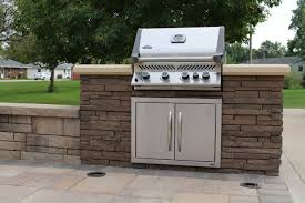 Backyard And Grill by Fireplace And Grill Celtic Landscaping