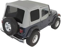 jeep soft top white rampage products complete soft top kit with upper doors u0026 tinted
