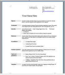 job resume tips choose the right format writing sample cover