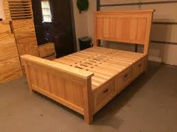 charming twin bed with storage plans ana white hailey storage bed