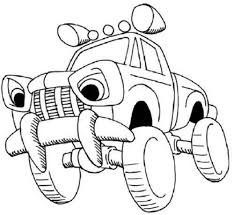 download cars cartoon coloring pages