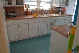 backsplash painting a kitchen floor how to paint old linoleum