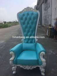 King And Queen Throne Chairs Danxueya Royal King And Queen Throne Rocco Baroque Leather Chair