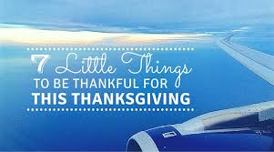 things to be thankful for this thanksgiving