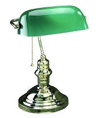green glass shade bankers l green desk l metal bankers desk l glass shade brass brass lime