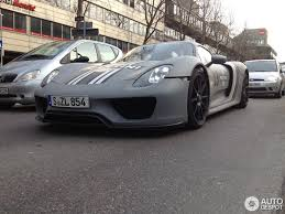 porsche martini livery porsche 918 spyder with grayscale martini livery feels timeless