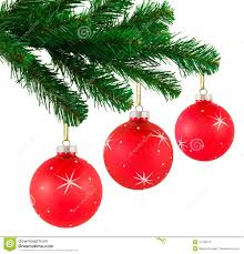 tree balls lights decoration