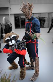 Guardians Galaxy Halloween Costumes Guardian Galaxy Rocket Raccoon Dress Halloween Costume
