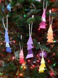 paint chip christmas tree ornaments allfreekidscrafts com