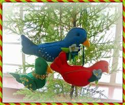 megan s tiny treasures bird felt ornament free pattern