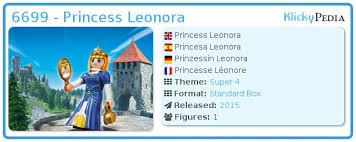 playmobil 6699 princess leonora klickypedia
