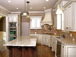 How To Clean Kitchen Cabinets Granite Countertop How To Distress White Kitchen Cabinets Best
