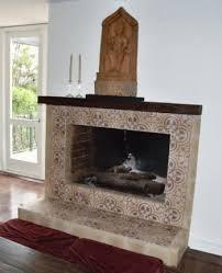 Fireplace Tile Design Ideas by Cement Tile Fireplace Ideas
