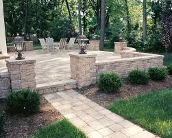 Patio Sitting Wall Houzz - Patio wall design