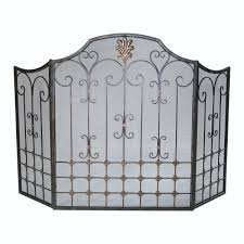 decorative fireplace screens full size of custom wrought iron