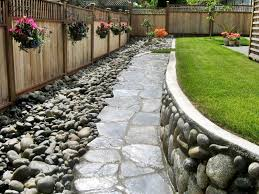 Rock Garden Plan by Outdoor Plan Idea Pictures Of Landscaping Next To Fences