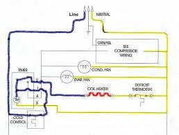 mechanical defrost timer wiring diagram wiring diagram and