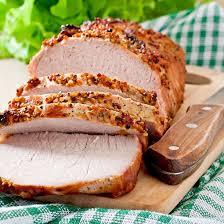 cuisiner roti de porc recette rôti de porc à la moutarde facile