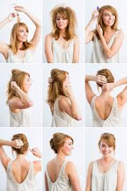 10 diy hairstyles for long hair messy updo hairstyles easy diy