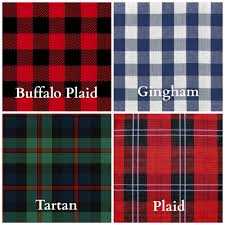 plaid vs tartan the difference between buffalo plaid gingham tartan and plaid